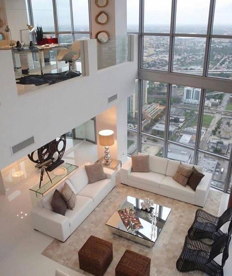 Home Interior Design — Penthouse in Miami, Florida. [1028*681 ...