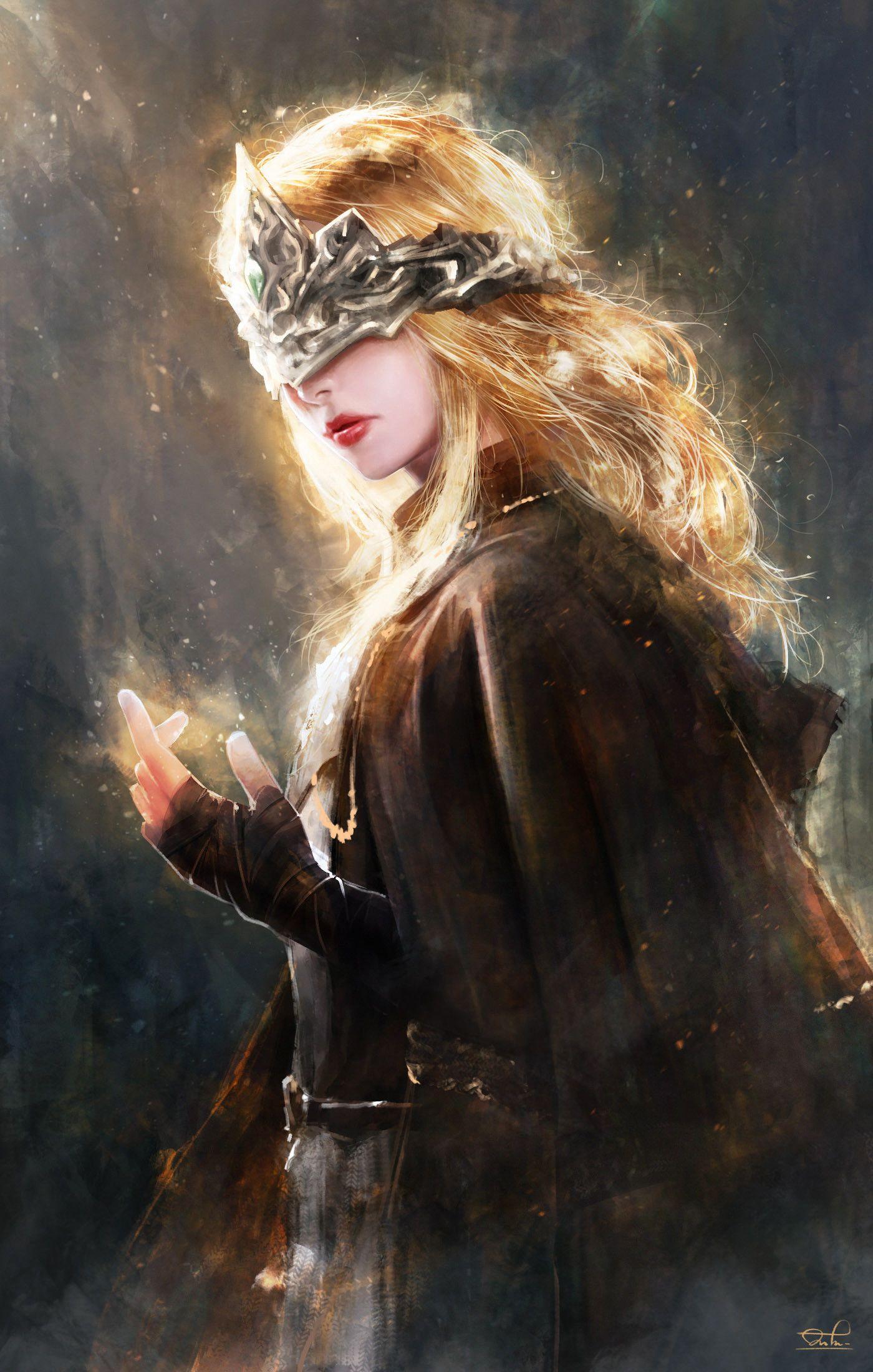 Artstation Fire Keeper From Dark Souls Iii Fan Art Kittichai