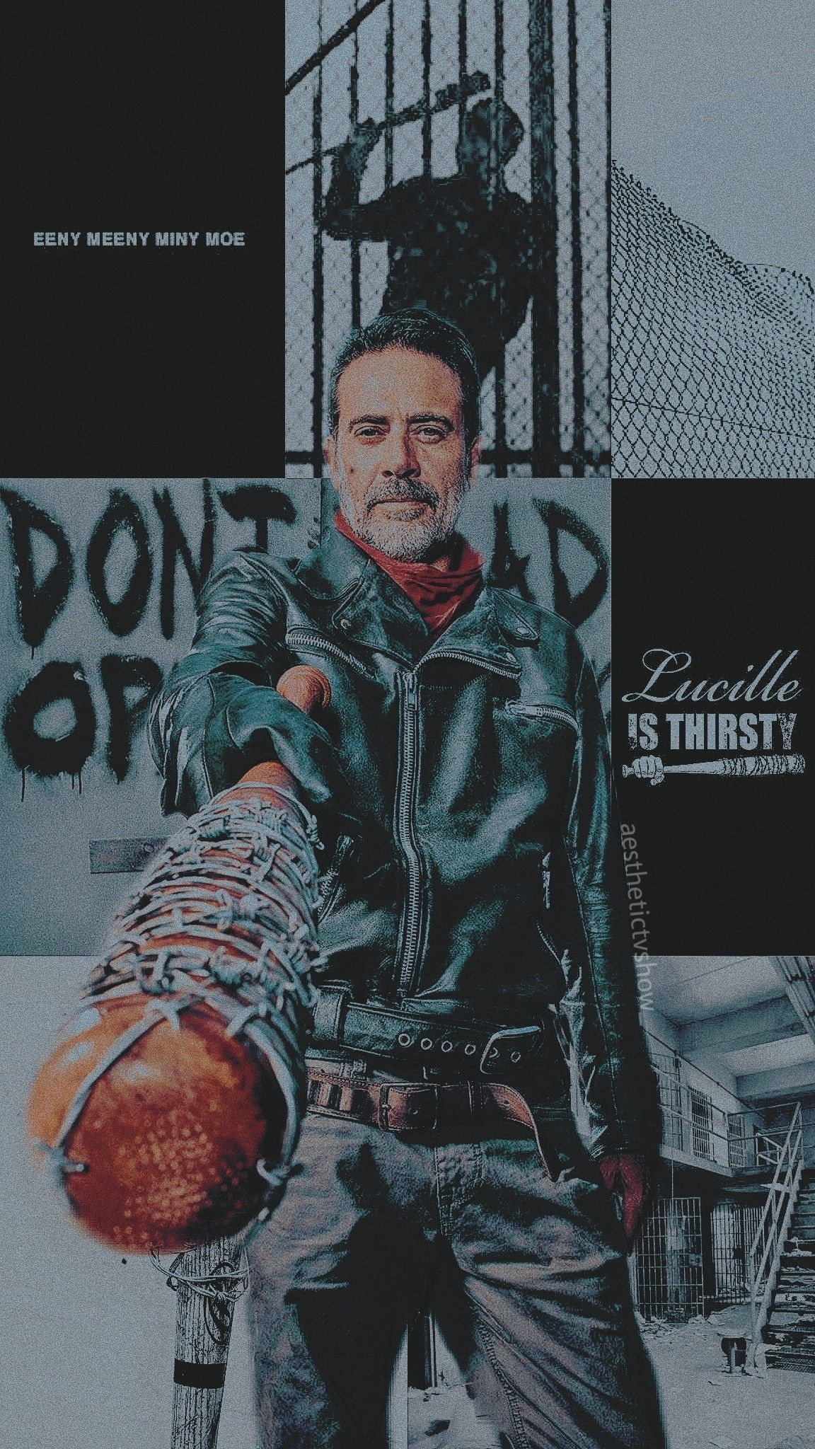 Negan The Walking Dead Wallpaper Ios