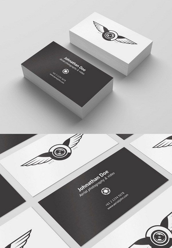 Free Psd Business Card Template  Mockup  Design