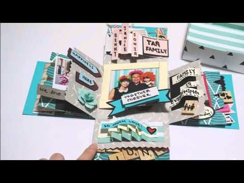 Explosion Box Birthday Box Diy Handmade Falling Card