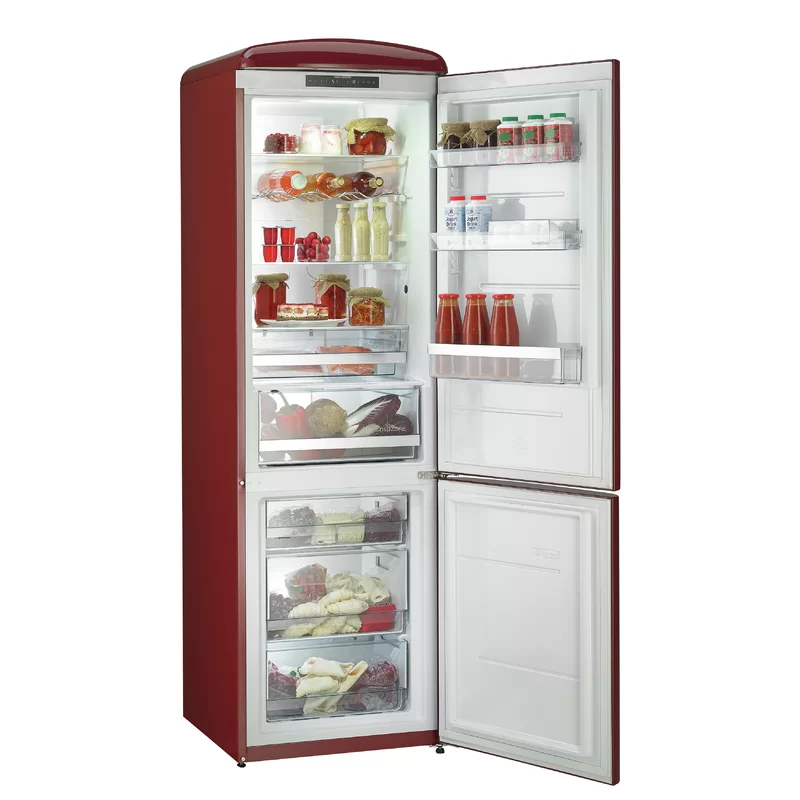 24 Bottom Freezer 12 Cu Ft Energy Star Refrigerator In 2020 Bottom Freezer Refrigerator Bottom Freezer Vintage Refrigerator