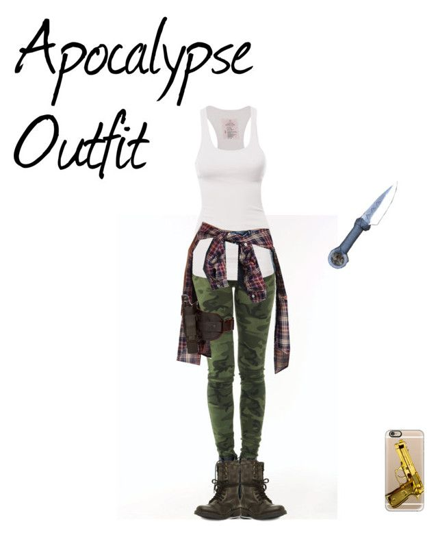 """Apocalypse Outfit"" by jasmina-twa on Polyvore featuring Mode, Refuge, Steve Madden, Casetify und Holster"