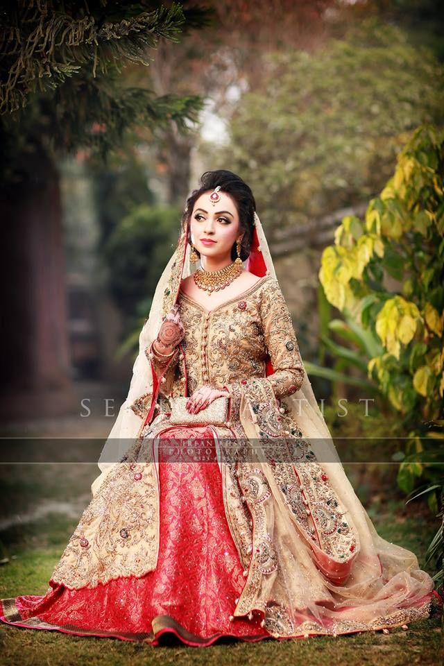 Latest Bridal Barat Wedding Dresses Trends 2016-2017 Collection (5 ...
