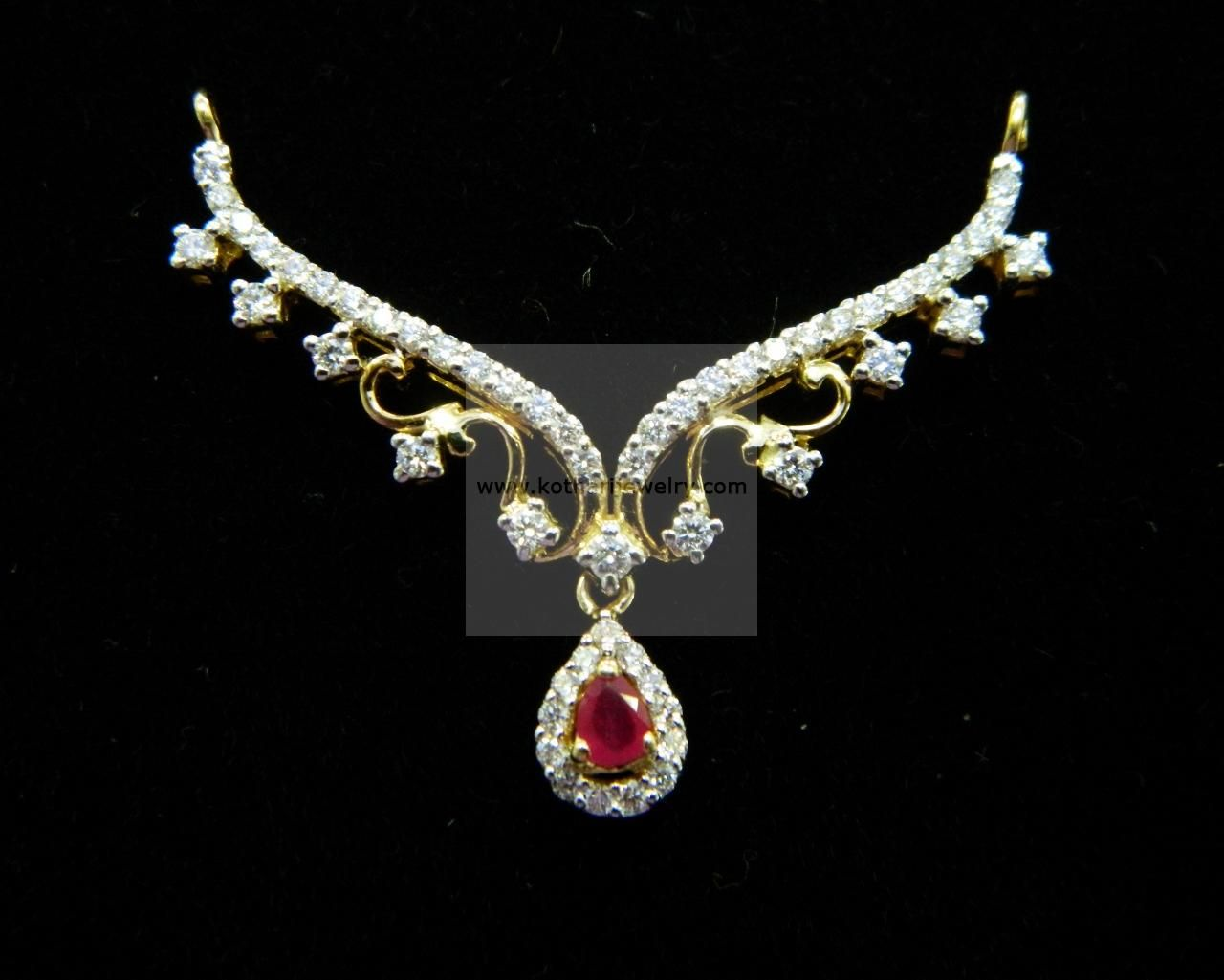 Mangalsutra diamond jewelry mangalsutra djpam at usd