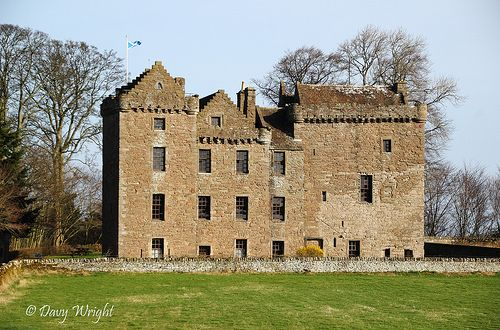 Huntingtower Castle by Eastern Davy, via Flickr
