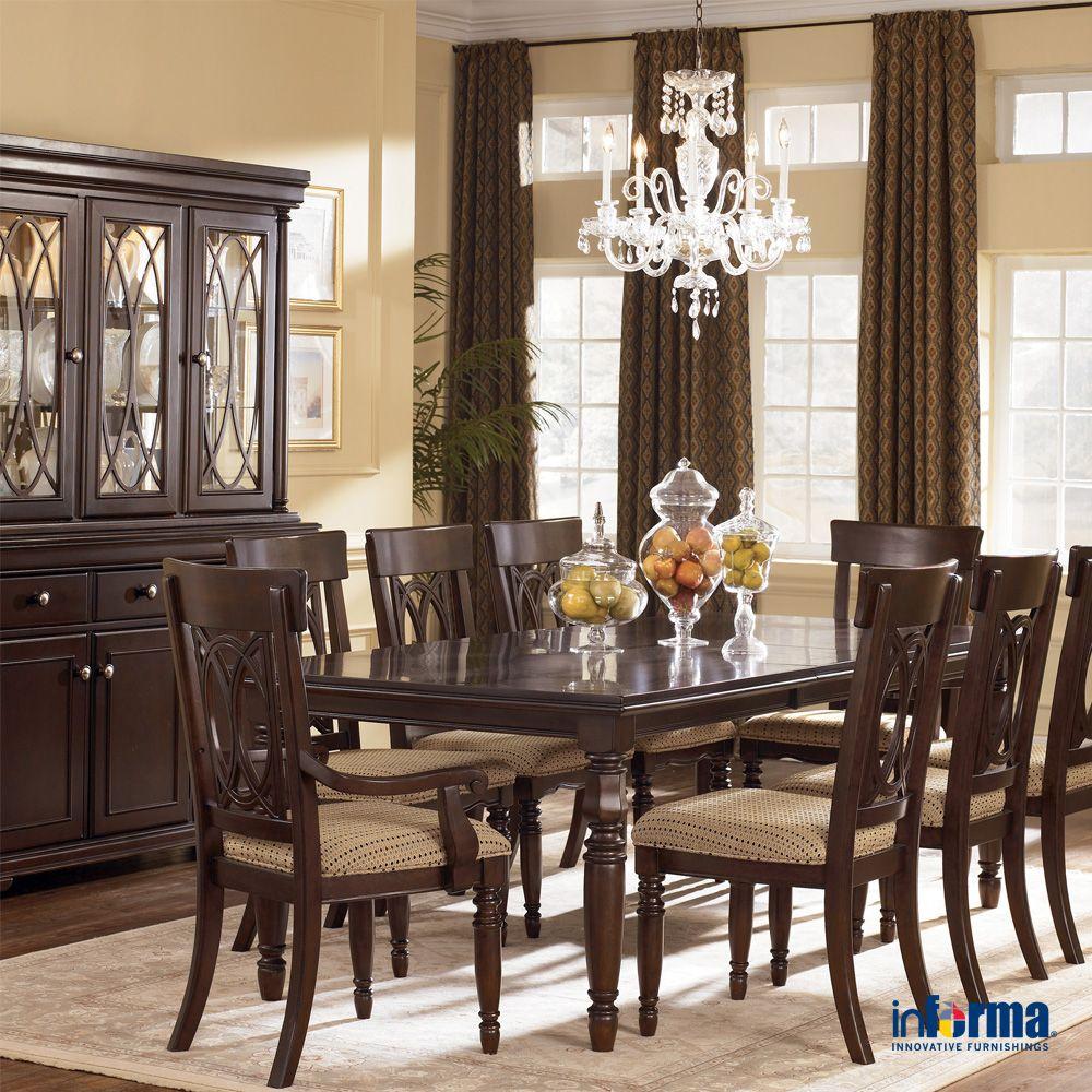 Membuat Tema Klasik Pada Rumah Anda Dengan Menggunakan Furnitur Berbahan Dasar Ka Dining Room Furniture Sets Cheap Dining Room Sets Affordable Dining Room Sets