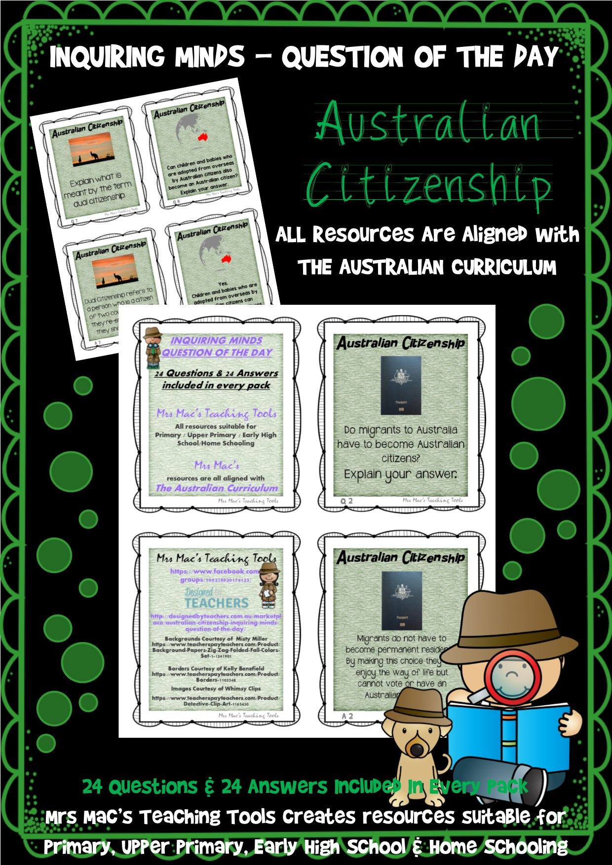 Australian Citizenship By Inquire Amp Discover By Mrs Macs