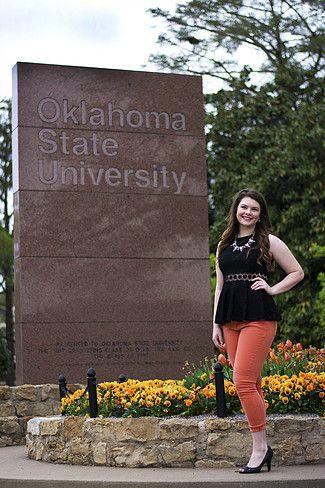 Oklahoma State University, College Graduation Pictures, Senior Poses, Theta Pond bnbphotography.net
