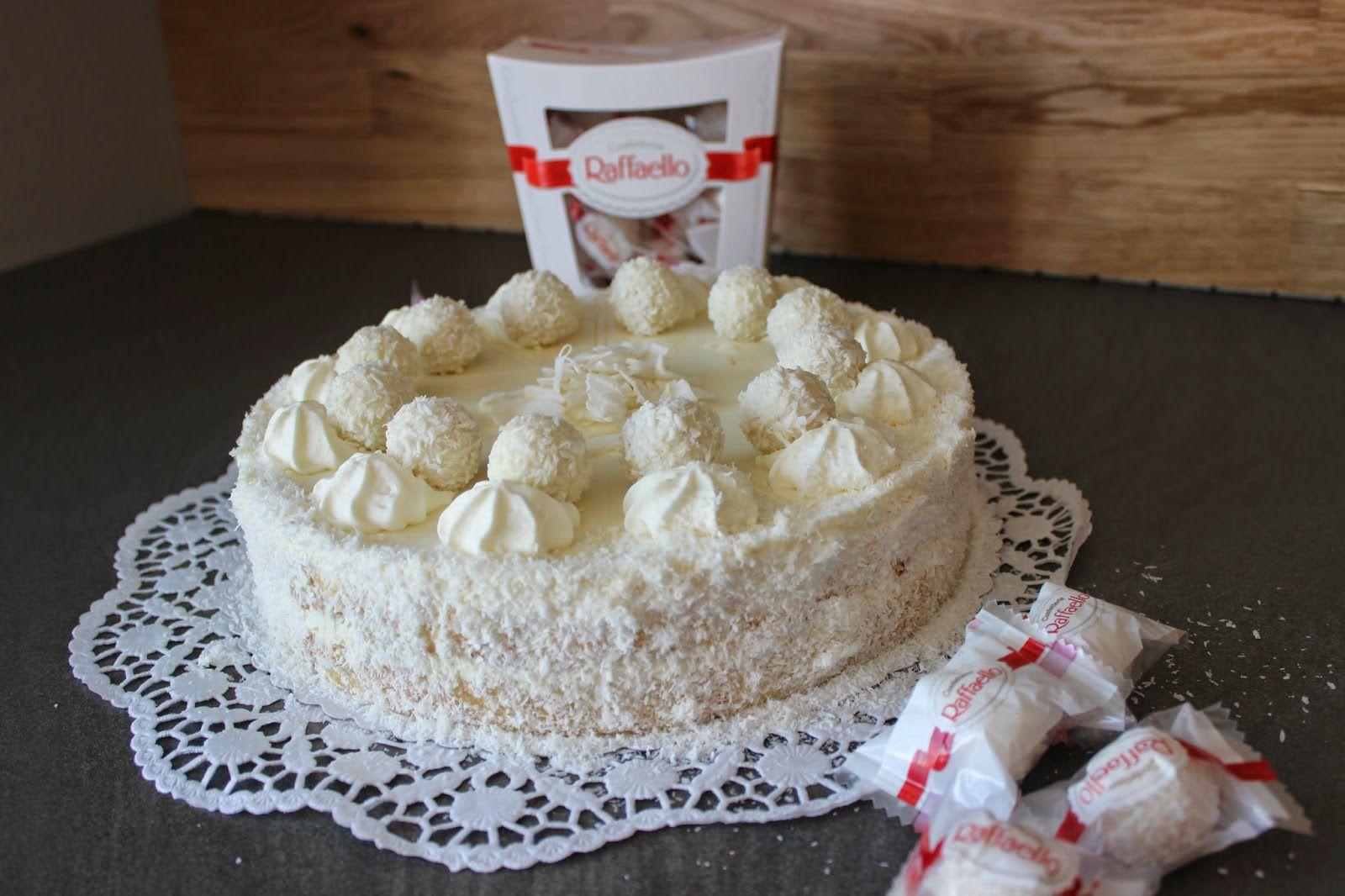 Kokos Torte Raffaello Torte Sallys Bunte Tortenwelt Kuchen Und Torten Rezepte Raffaello Torte Raffaello Kuchen