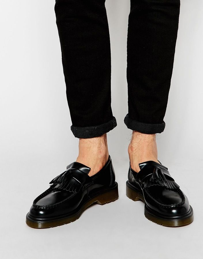Find the Best Deals on Dr Martens Adrian tassel loafers in