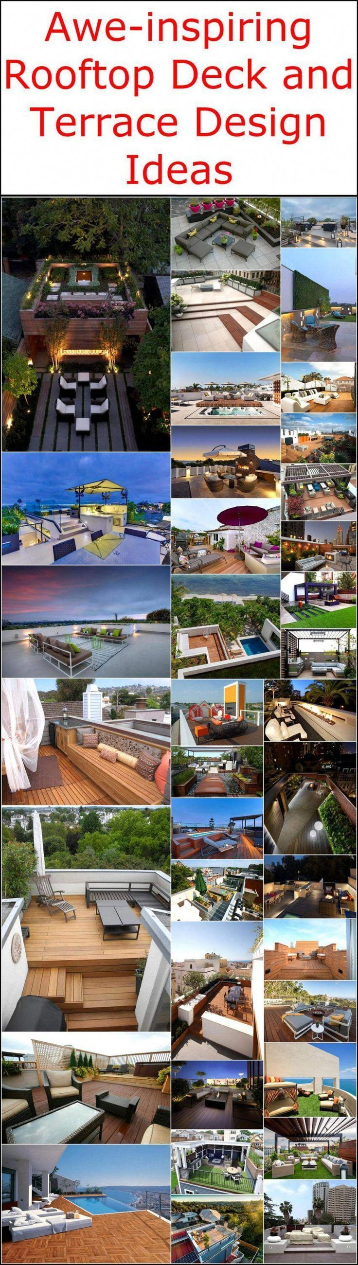 Photo of Idee di design impressionanti per terrazze e terrazze sul tetto #deckdesigner