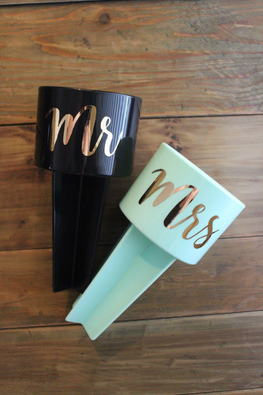 Mr Mrs Beach Spikers, mrs beach spiker, newlywed gift, wedding gift, gift set, couple beach spiker, honeymoon, honeymoon gift by VinylVibesShop on Etsy https://www.etsy.com/listing/398645337/mr-mrs-beach-spikers-mrs-beach-spiker