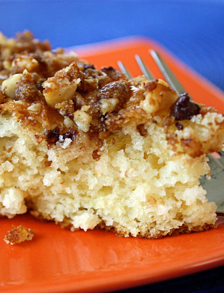 Chocolate chip coffee cake recipe with images baking