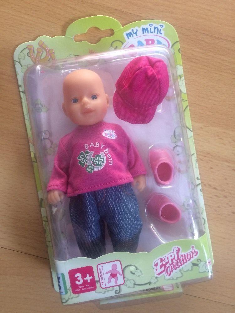 dfede6394eb92e Zapf Creation My Mini Baby Born Puppe Freizeitoutfit in Spielzeug, Puppen &  Zubehör, Babypuppen & Zubehör | eBay!