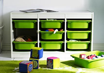 ikea trofast would be great for center storage toy organization pinterest kinderzimmer. Black Bedroom Furniture Sets. Home Design Ideas