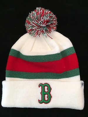MLB Boston Red Sox Mens '47 Brand Winter Hat www.mancavesonline.com