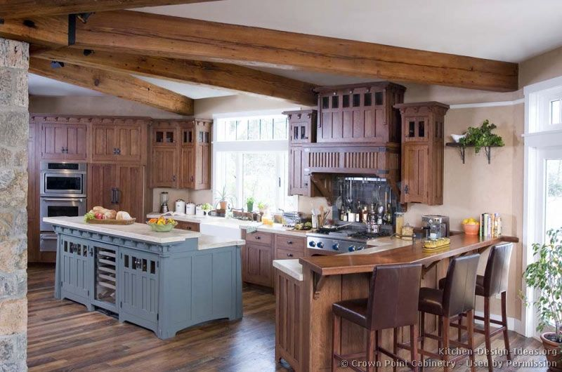 Mission Style Kitchen Cabinets Crown Point Cabinetry