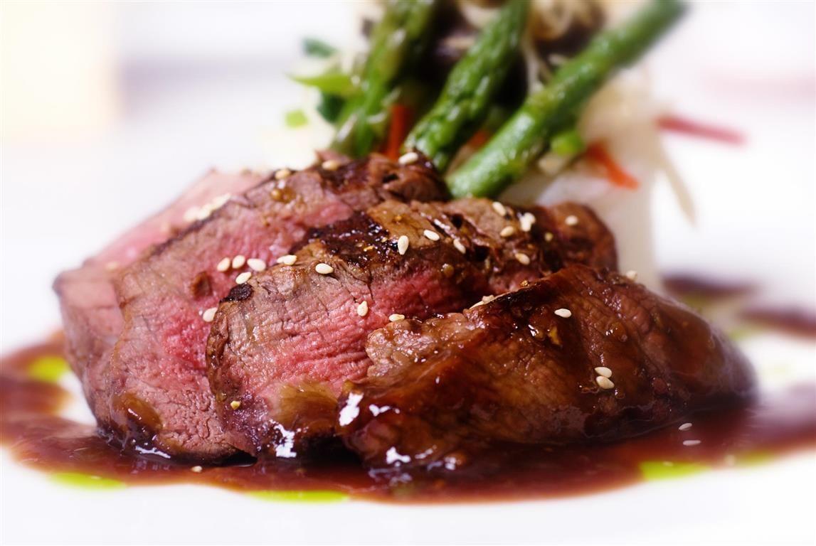Sliced Steak Jpg In 2020 Bordelaise Sauce Venison Recipes Slow Roasted Beef Tenderloin