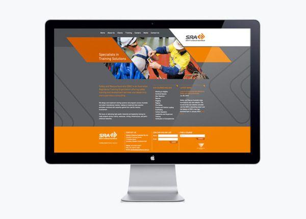 Sra Rebrand By Axiom Design Partners Via Behance Rebranding Sra Solutions