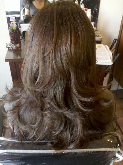 Pin By Melissa Mejia On Bella Vita Beauty Lounge Hair Styles Long Hair Styles Long Layered Hair
