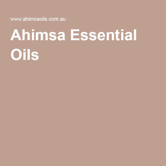 Ahimsa Essential Oils