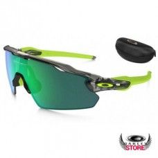 882abc164c Fake Oakley Radar EV Pitch Grey Ink   Jade Iridium