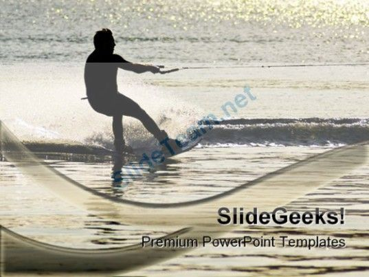 Sunset waterskier vacation powerpoint templates and powerpoint sunset waterskier vacation powerpoint templates and powerpoint backgrounds 0211 powerpoint templates themes toneelgroepblik Image collections