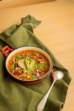 Une Geekette En Cuisine - soupe épicée de haricots rouges