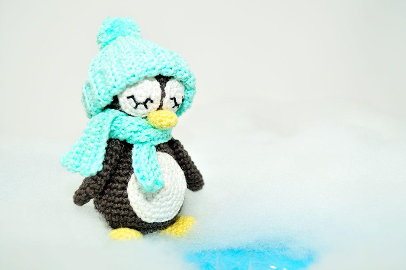 Amigurumi Pinguin Hakeln Pit Pinguin Hakeln Tier Hakeln