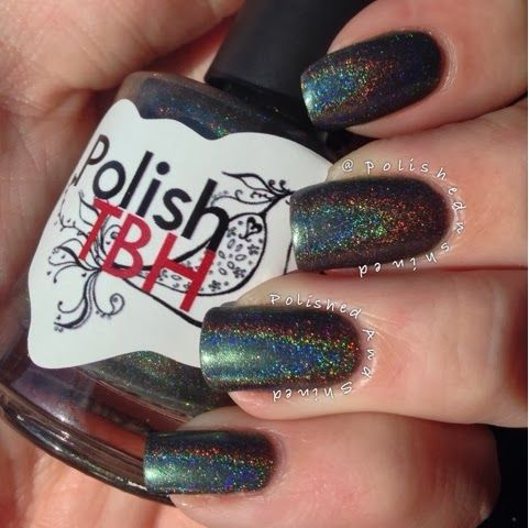 "Polished And Shined: Polish TBH Meraki Collection ""Elysium"", indie nail polish"