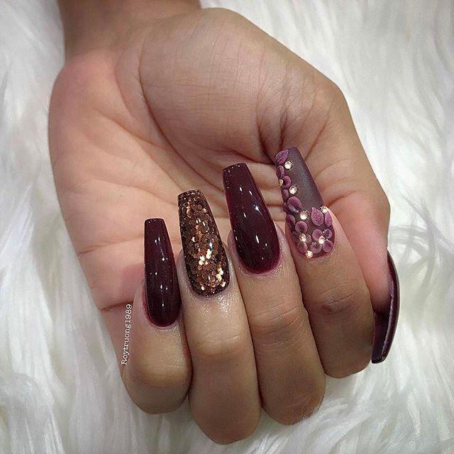 Pin de Ailyn Pruneda💓🌸 en Uñas | Pinterest | Diseños de uñas, Arte ...