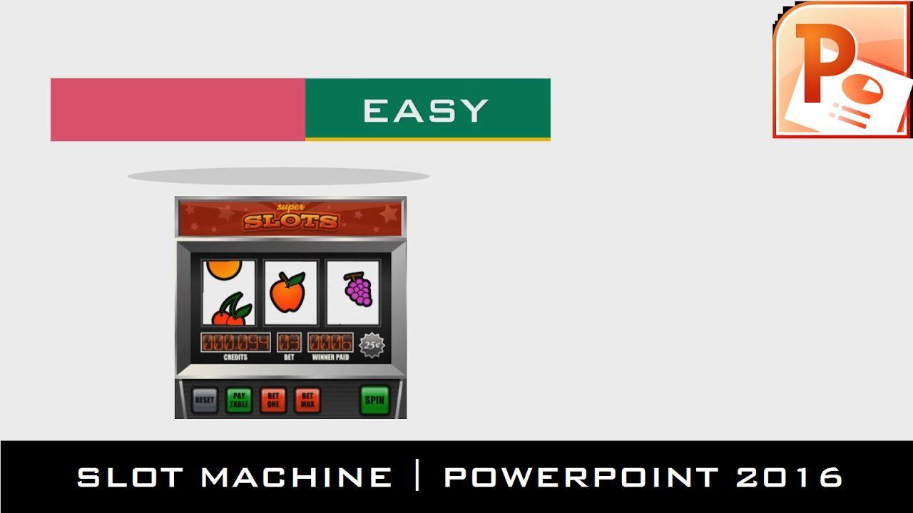 The teacher slot machine motion graphics powerpoint 2016 the teacher slot machine motion graphics powerpoint 2016 tutorial baditri Image collections
