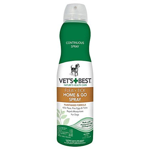 Dog Flea Sprays Vets Best Natural Flea and Tick Home and