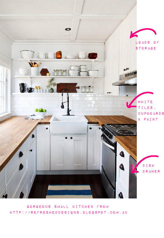 Small kitchen ideas lovely and i really love a dish for Really small kitchen ideas