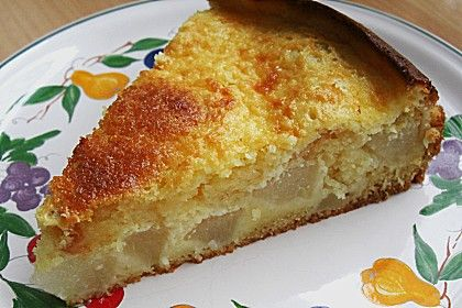 Schwedischer Birnenkuchen German Recipes Cakes Pinterest