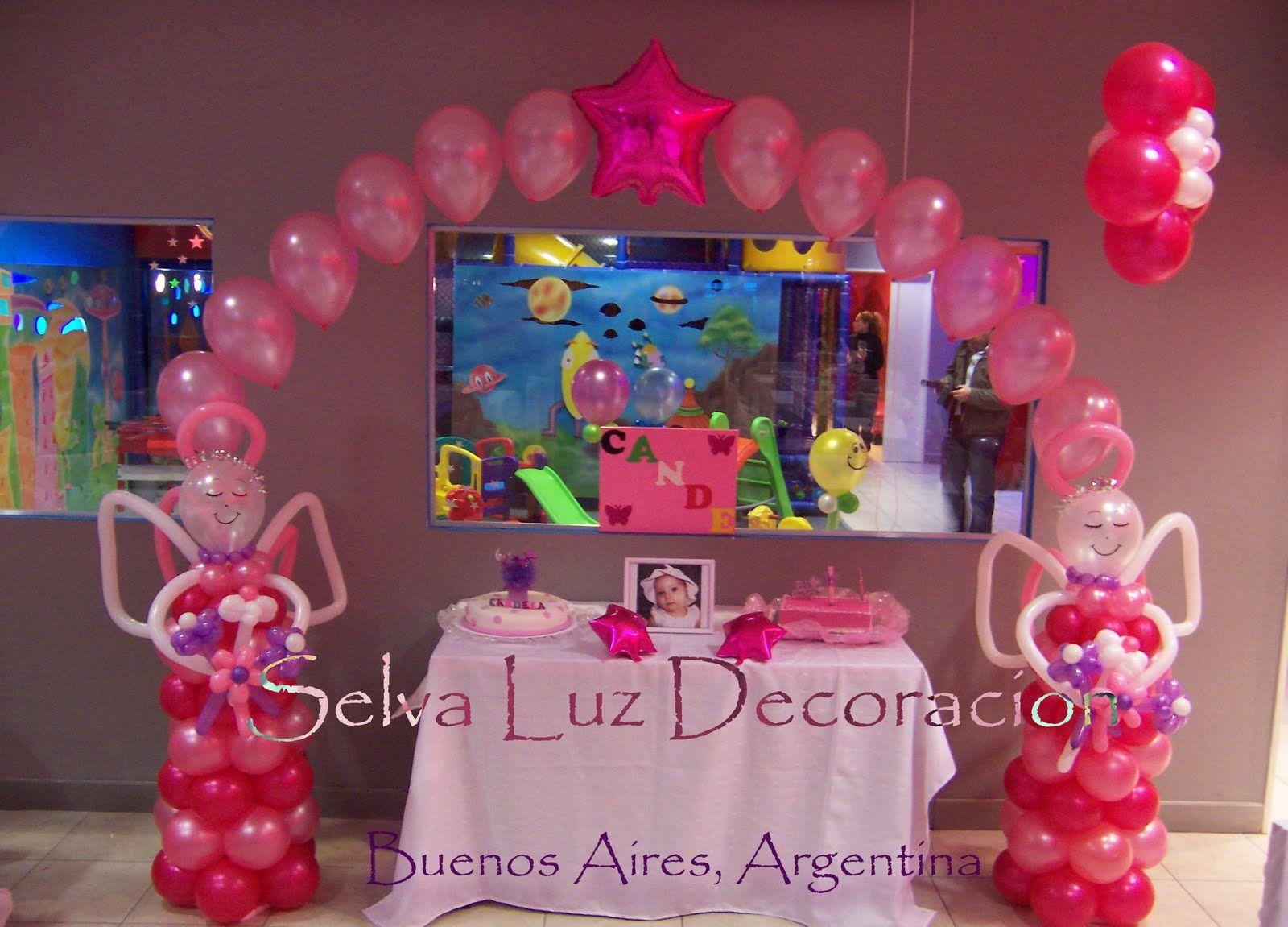Decoracion de arcos para xv selva luz decoraci n con for Decoracion con globos