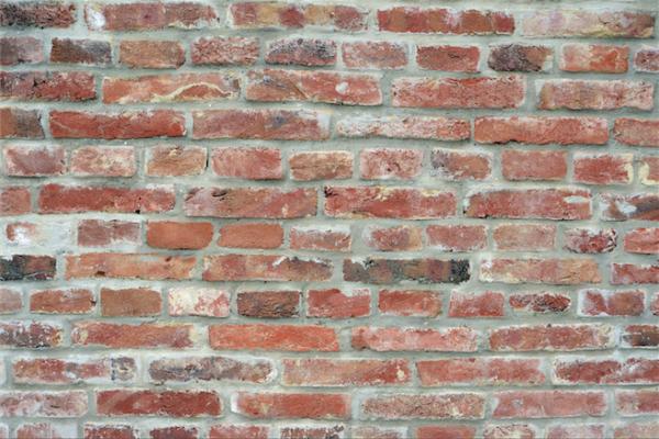 Fotobehang baksteen muur via stijlidee interieuradvies en styling via - Modern muur steen ...