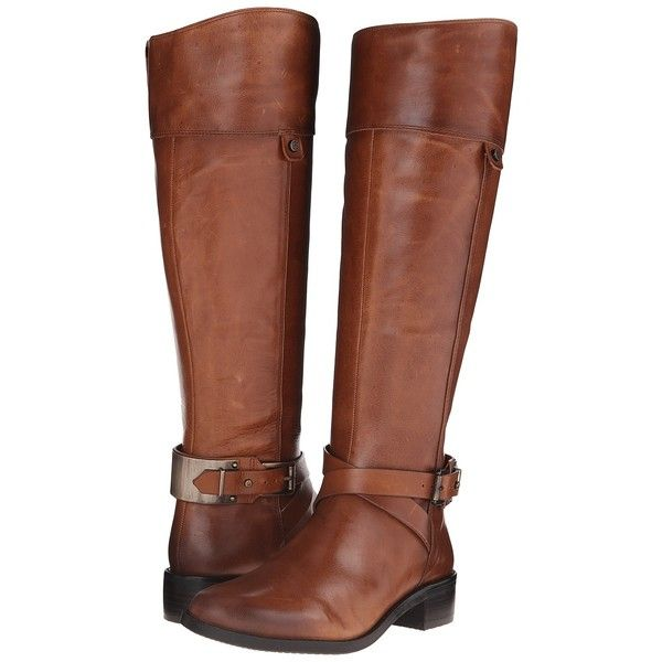 Vince Camuto Jaran (Russet) Women's Boots ($131) ❤ liked on Polyvore  featuring