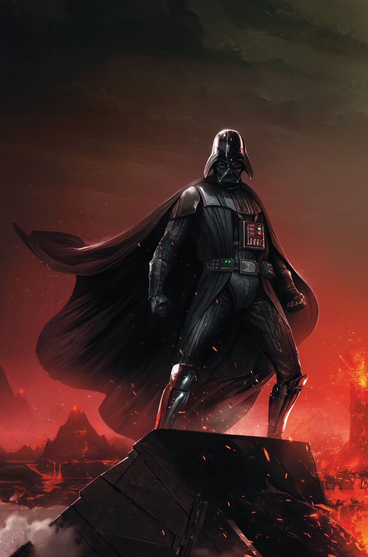 Francesco Mattina Textless Variant Cover Of Darth Vader Dark Lord Of The Sith 1 The Chosen One Part Dark Lord Of The Sith Star Wars Poster Star Wars Comics