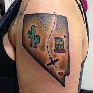Nevada State Tattoos Tattoos I Tattoo