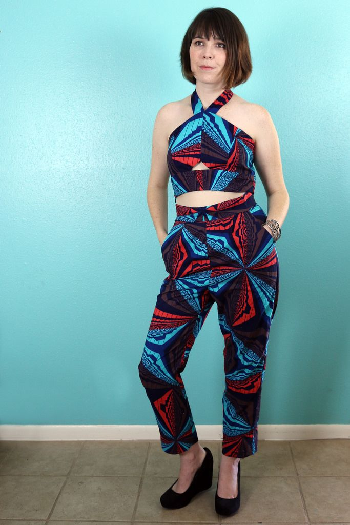 Simplicity #sewing #pattern 1371 - we love this fabric choice ...