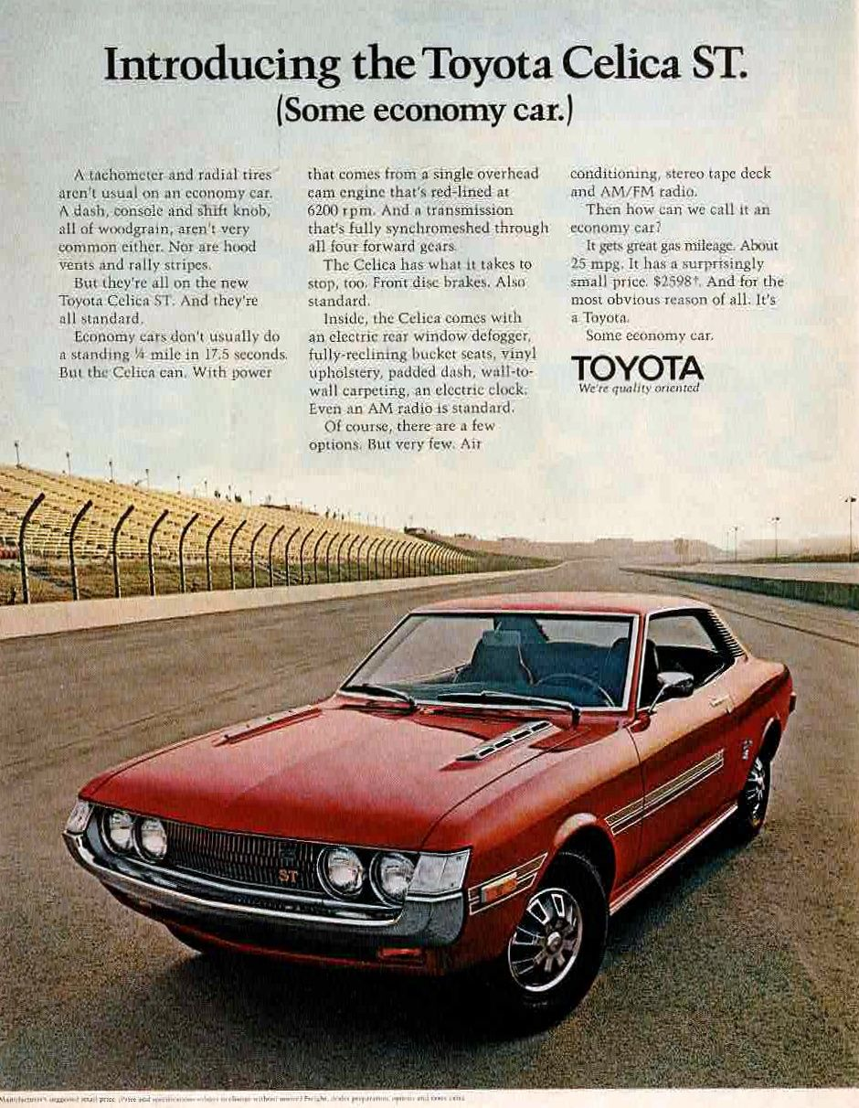 Pin by Vale Fillmon on Vintage Ads 1950s1970s Toyota