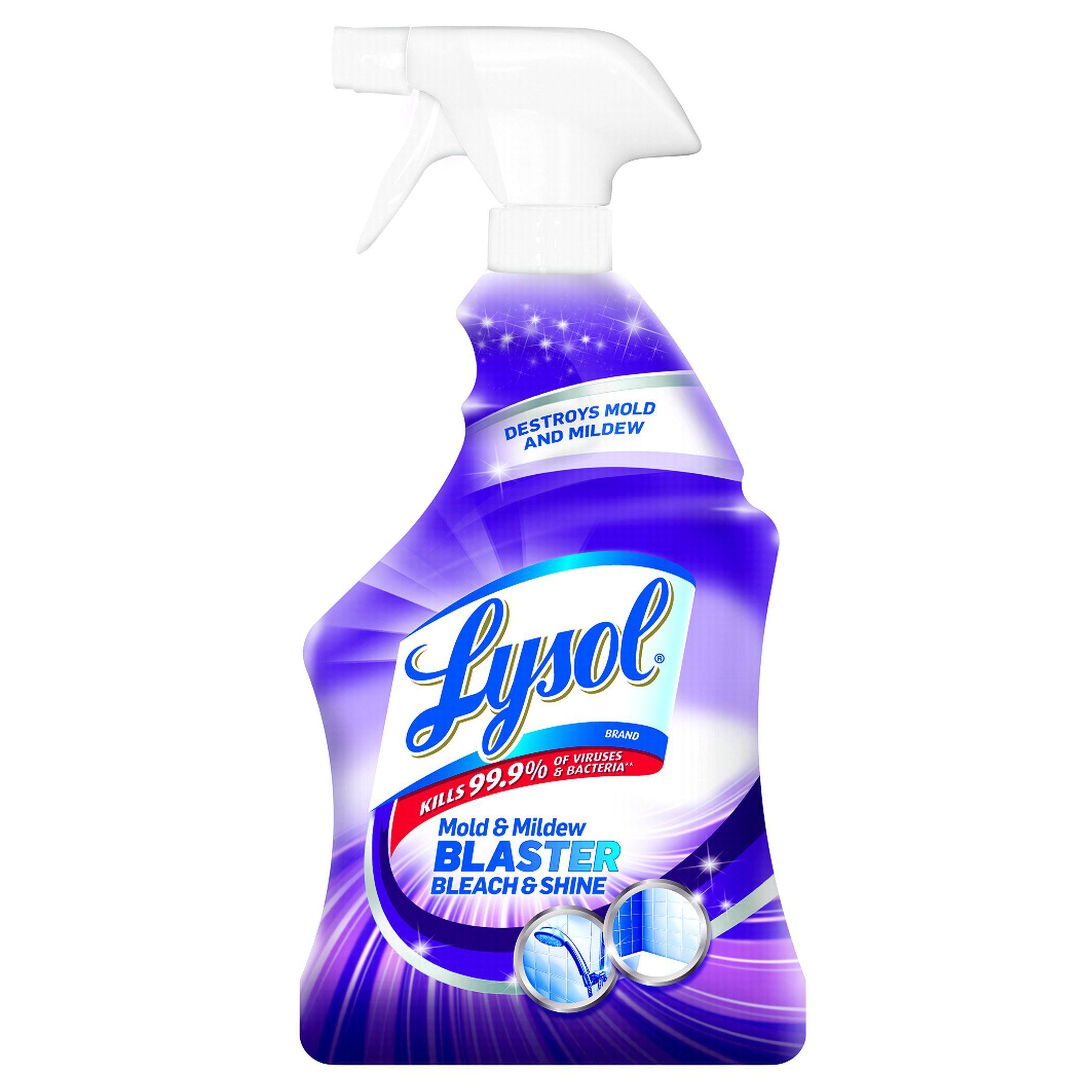 Lysol 78915 32 Oz Mold & Mildew Blaster With Bleach Mold