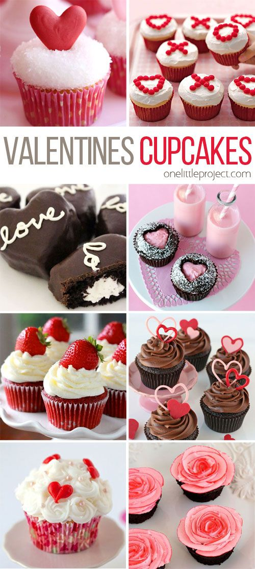 35 Valentine S Day Cupcake Ideas Pinterest Best Pinterest