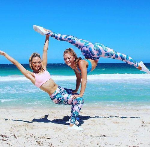 Most Popular Tags For This Image Include Dance And The Rybka Twins Gymnastics Poses Gymnastics Photography Acro Gymnastics