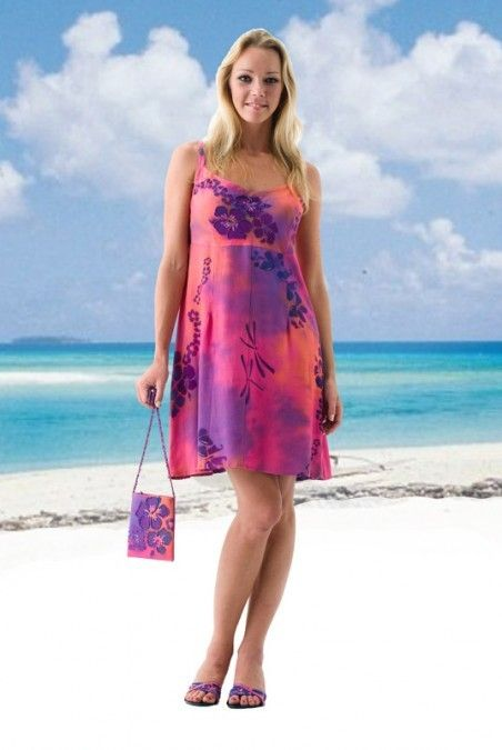 1ecb94451ff5 Tropical Empire Short Dress at Tropical Tantrum | Casual Hawaiian ...