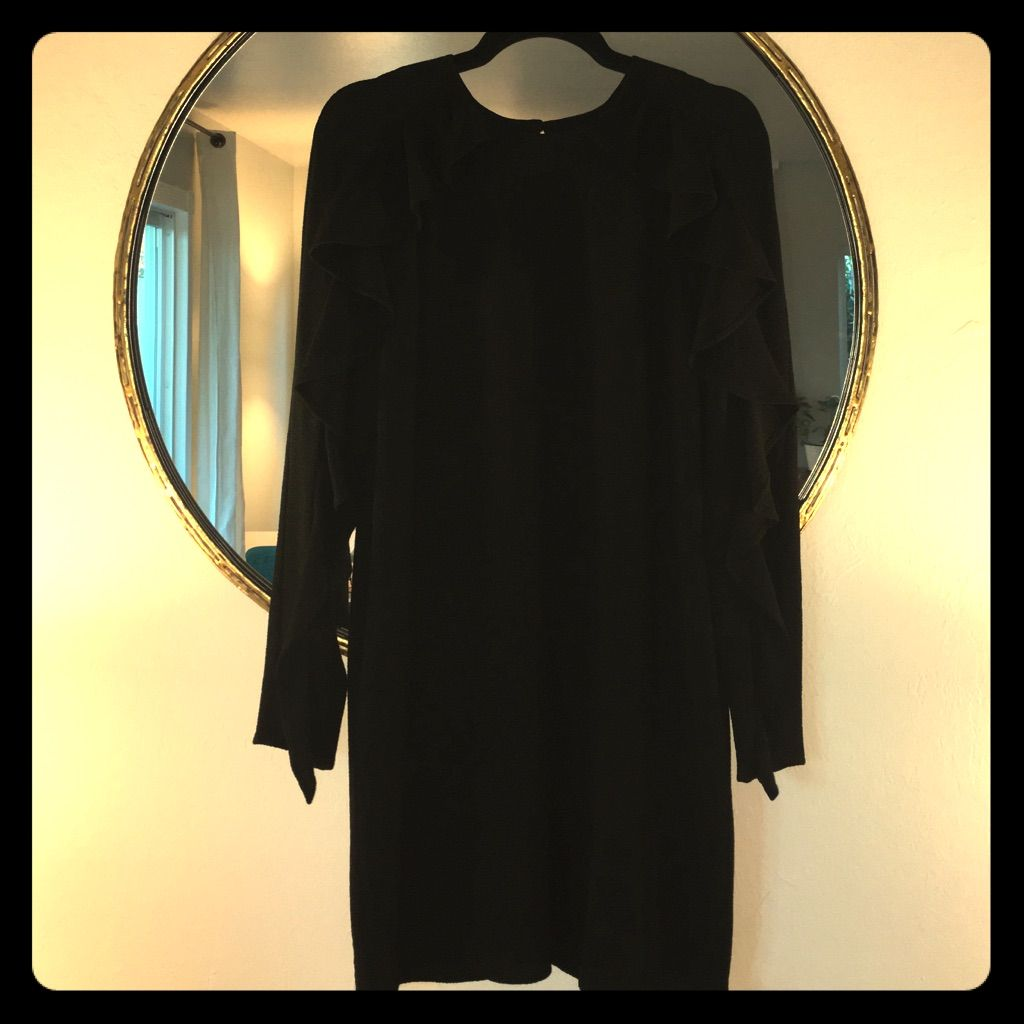 Long sleeve ruffled mini dress mini dresses minis and products