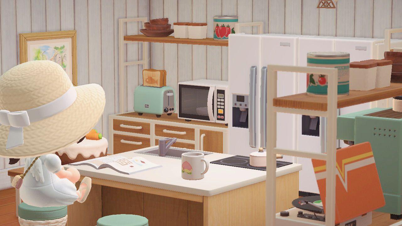 pastelia — pasteliapeaches: ironwood kitchen 🥕 here's a ... on Animal Crossing Ironwood Kitchen  id=47454