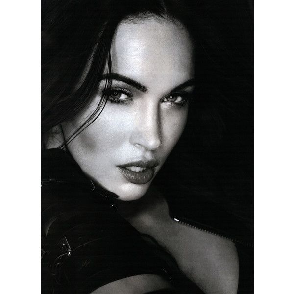 Esquire Editorial Megan Fox Saves Herself, February 2013 Shot #2 ❤ liked on Polyvore featuring megan fox and editorials
